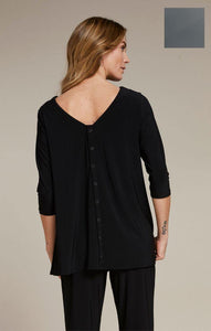 Icon Reversible Top, 3/4 Sleeve