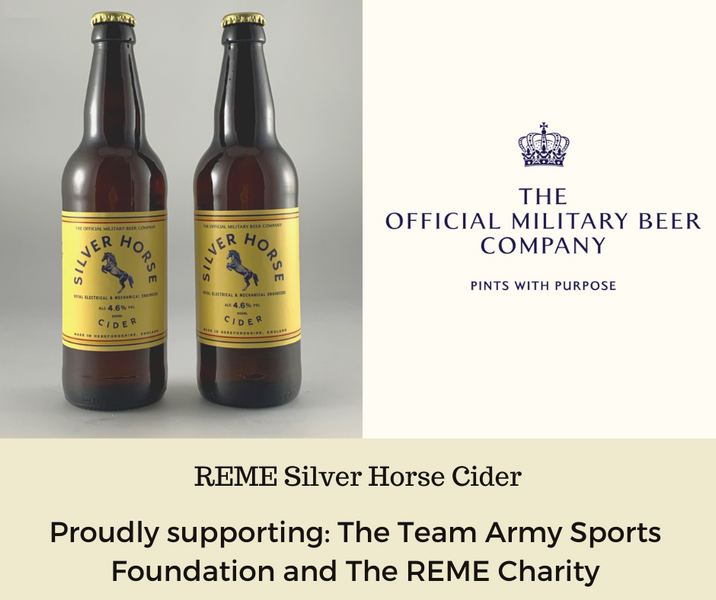 ATTEN-TION!! CELTIC MARCHES TEAMS UP WITH THE OFFICIAL MILITARY BEER COMPANY TO PRODUCE PINTS WITH PURPOSE