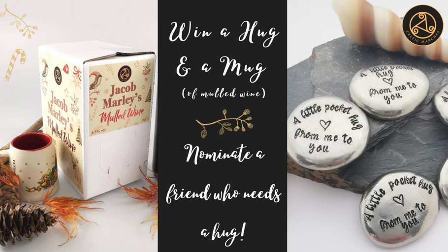 Win a Pocket Hug and a box of Mulled Wine!
