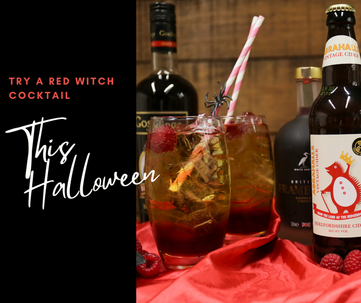 Halloween Cocktails and a Spooktacular Giveaway!