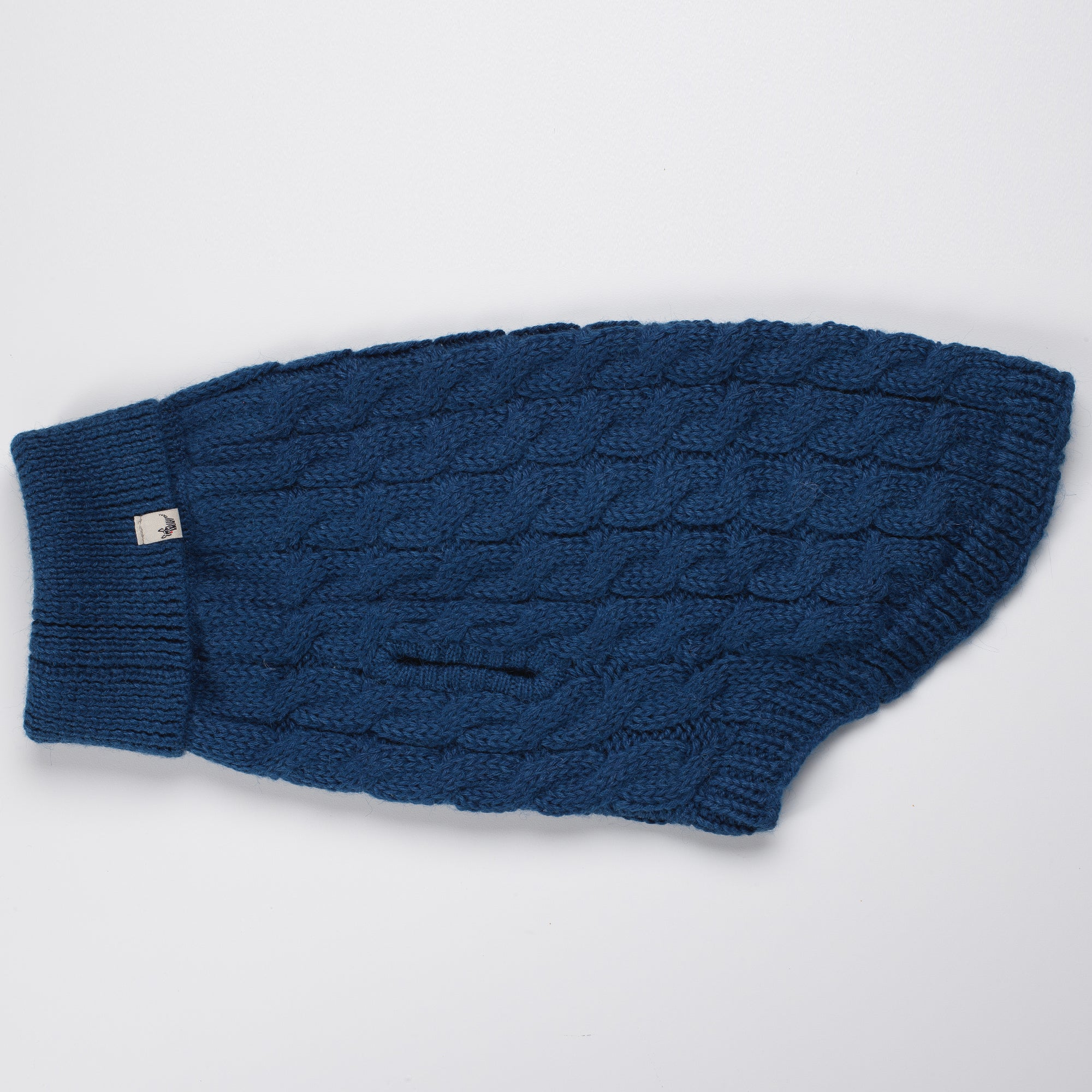DC Cable Turtle Neck Blue