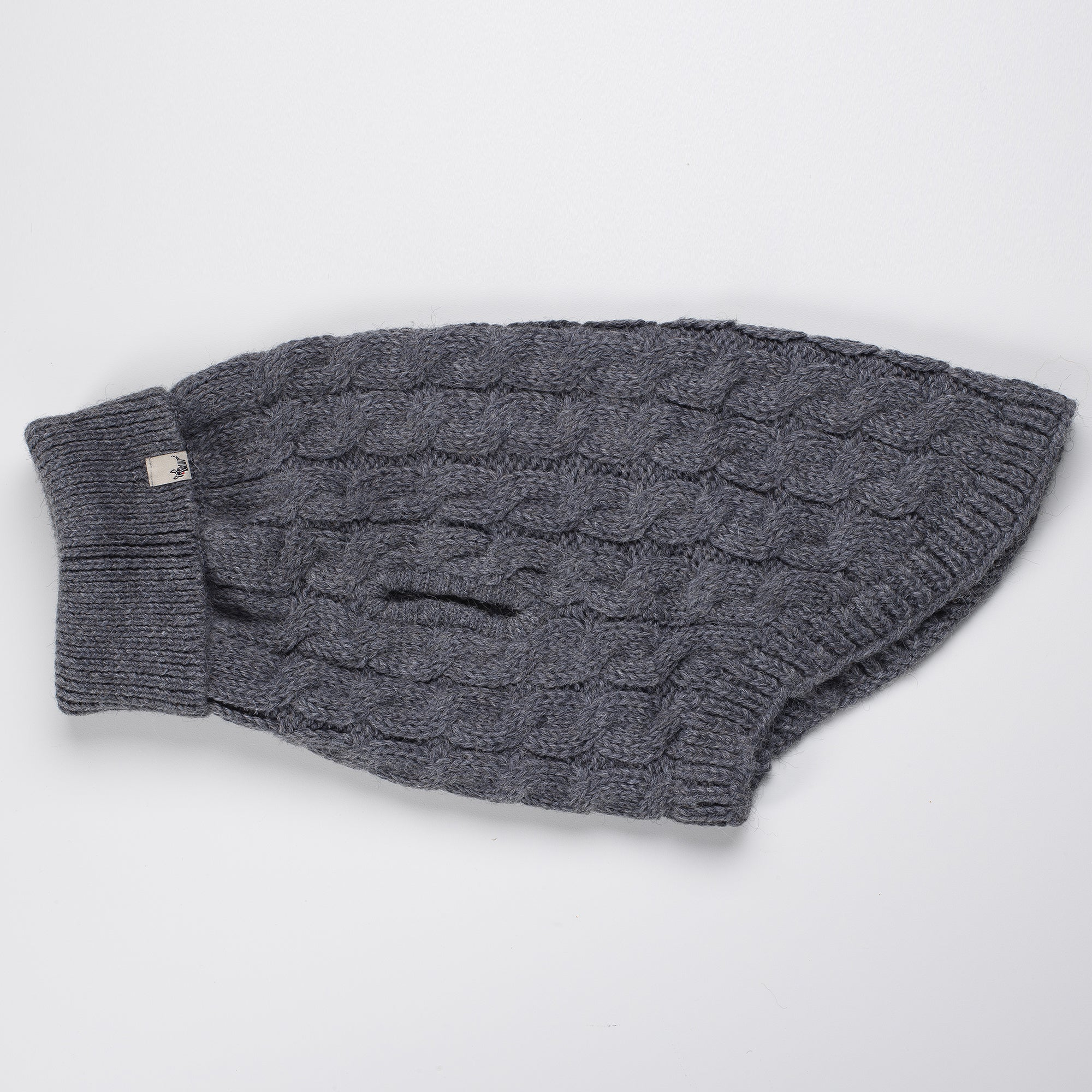 DC Cable Turtle Neck Grey