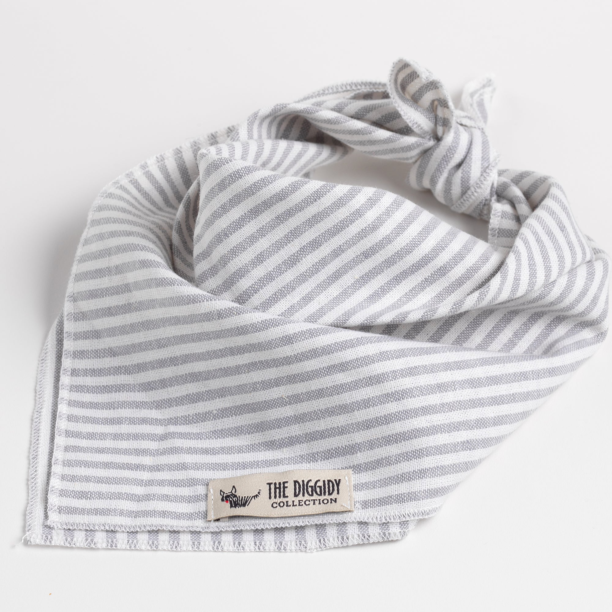 DC Bandana Stripe Grey