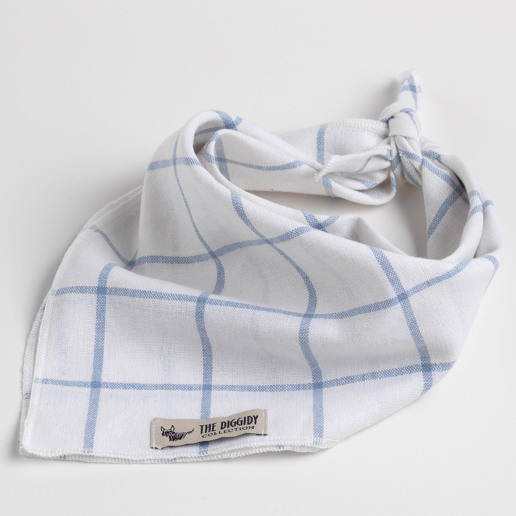 DC Bandana Checkers Blue