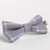 DC Bowtie Checkers Grey