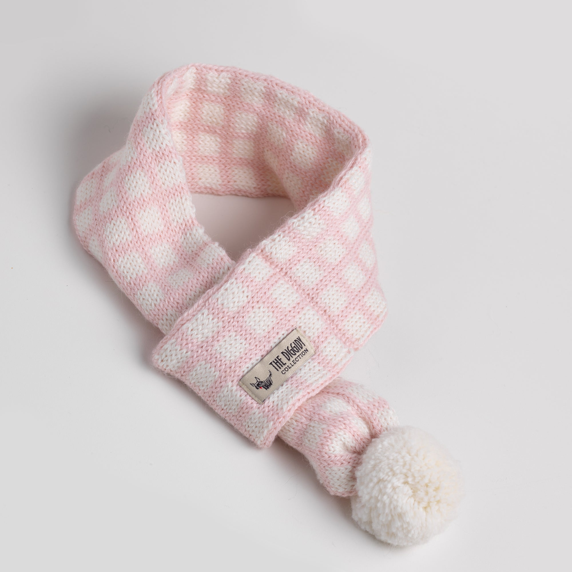 DC Scarf Ck/Plaid Blush