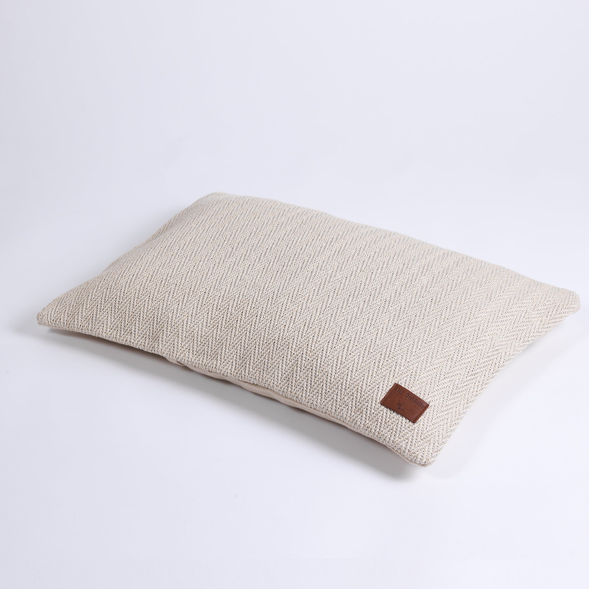 DC Herringbone Hemp Pillow Cover natural
