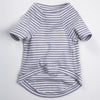 DC Pima Stripe T grey
