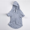 DC Pima hooded sweathshirt grey