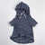DC Pima hooded sweathshirt black
