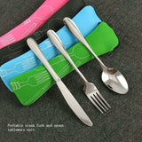 3 Pcs/Set Stainless Steel Flatware utensils
