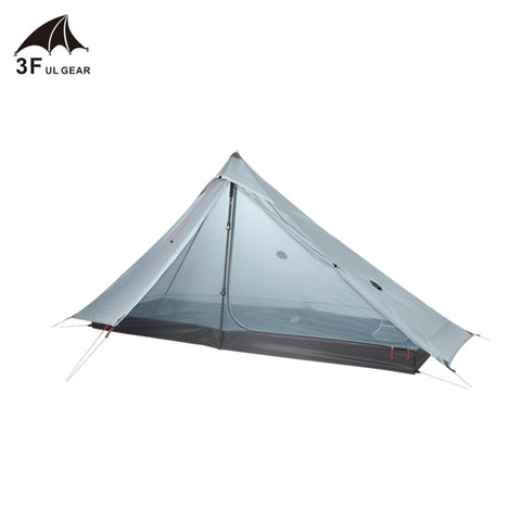 3F UL GEAR LanShan 1 pro 1 Person  Outdoor Ultralight Camping Tent 3 Season  Professional 20D Nylon Both Sides Silicon Tent