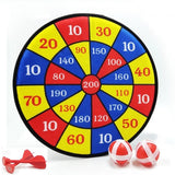 Children's Target Toy Safety Sticky Ball Cloth Quality Target Darts Toy Indoor Outdoor Parent-child Activity Game Toy