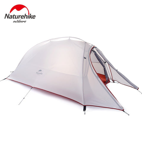 Naturehike Cloud Up Series 1 2 3 Person Tent Outdoor  Ultralight Camp Tent with Mat Camping 20D Silicone Travel