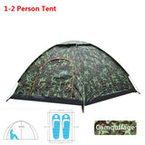 Outdoor Camping Tent 1 2 3 4 Person Automatic