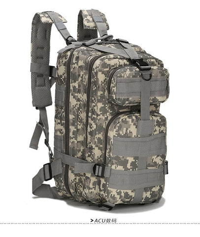 25L 3P Tactical  Military Outdoor Rucksack