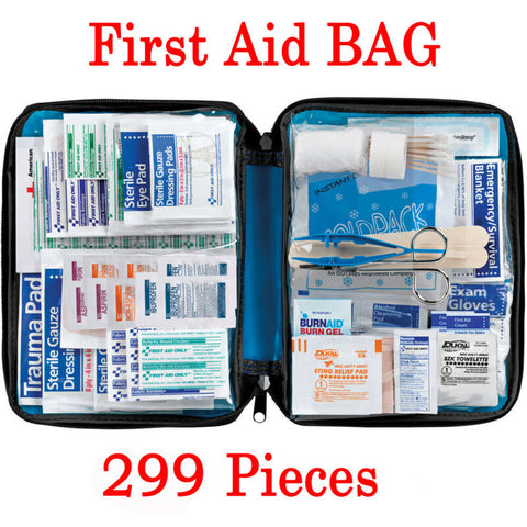 299Pcs First Aid Kit Medical Pouch