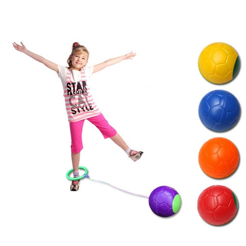 1pcs Single Foot Jumping Ball Toy