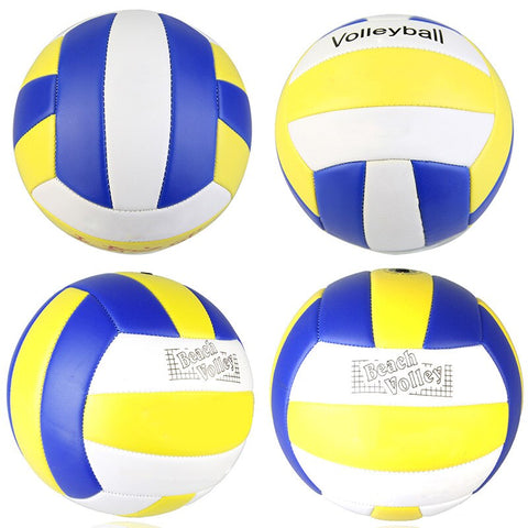 1PCS Soft Touch Volleyball PU Leather Match Training Volleyball