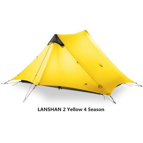 2019 LanShan 2 3F UL GEAR 2 Person Oudoor Ultralight Camping Tent