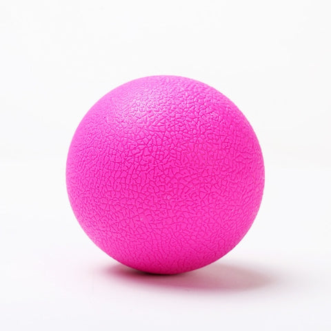 TPE Fascia Ball Lacrosse Muscle Relaxation Exercise Sports Fitness  Yoga Peanut Massage Ball Trigger Point Stress Pain Relief