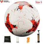 Russia Professional Size 4 Size 5 Football Premier PU Seamless Soccer Ball Goal Team Match Training Balls League futbol bola