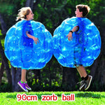 60/90cm Zorb Ball PVC Blue/Red Inflatable Bubble Soccer Zorb Ball/pump for Children Adult Family Outdoor Game Sports Toy Ball