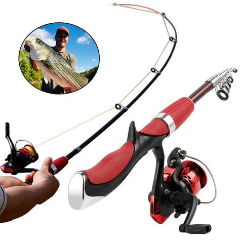 Hot Sale Fishing Rod and Reel Set Casting Fishing Rods