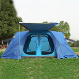 Upgrade version!New #camping #tent 6-8 people #family# camping #tent automatic two-bedroom halls with plus snow skirt