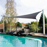Waterproof Sun Shelter 3.6M Triangle Sunshade Protection Outdoor Canopy Garden Patio Pool Shade Sail Awning Camping Picnic Tent