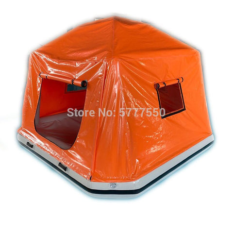 Airtight Floating Tent Shoal Tent Camping Floating Water Tent Water Boat Raft Tent for kid and adults Inflatable Water Pool Tent