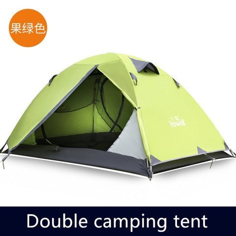 Outdoor Professional Camping Tent Double Cold Mountain Camp Windproof Against Rainstorm Light Aluminum Alloy Harsh Environment