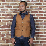 Brosnon Outdoor Game Pocket Canvas Vest