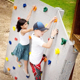 Kids Outdoor game Indoor Playground Plastic Rock Climbing Holds Wall Set Tool Kit Rock Stones Backyard Kids Fitness Sports Toys