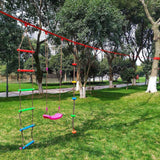 Wood Flying Rings Swing Gym Ring Child Adult Pull-Up Pull Up Chinning Muscle Outdoor Indoor Sports Game Toys Swing Bar Rings