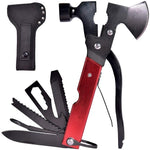 Multi Function Camping Equipment, 18 in 1 Multi-Function Tools for Emergency Escape, Camping