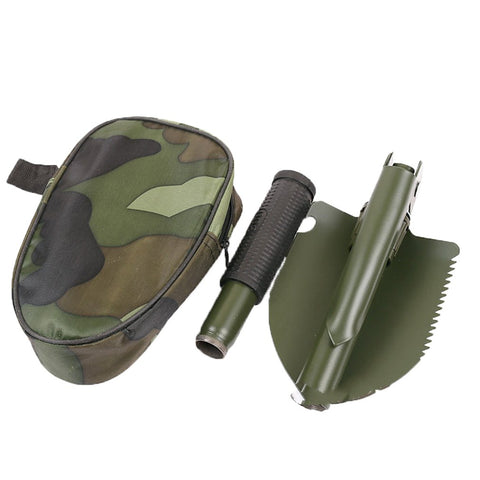 Garden Tools Mini-Military Portable Folding Shovel Survival Spade Emergency Trowel For Outdoor Camping Tool