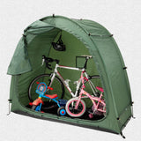 Waterproof Bike Tent Bike Storage Shed 190T Bicycle Storage Shed With Window Design For Outdoors Camping Tent for Winter Fishing