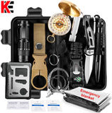 Outdoor survival kit Set Camping Travel Multifunction First aid SOS EDC Emergency Supplies Tactical for Wilderness tool garget