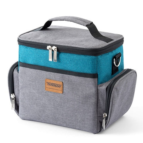 Large Capacity Cooler Bags Oxford Insulation Lunch Box Thermal Drink Beer Ice Pack Travel Picnic Backpack Food Fresh Keeping