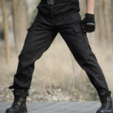 Outdoor Military Tactical Special Training Unisex Pants Mountaineering Camping Wear Resistant Multi Pocket Overalls Trousers