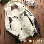 Waterproof Warm Two-in-one Jackets Camping Climbing Skiing Hiking Outdoor Couple Coat Quality Sports Windbreaker Winter Autumn
