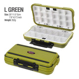 2020 Fishing Waterproof Fishing Tackle Box Double-Sided Opening and Closing Bait Box Multifunctional Hook and Bait Accessory Box