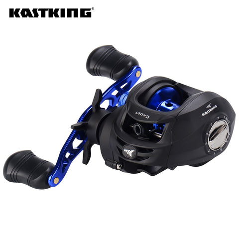 KastKing Cadet Baitcasting Reel 5+1 Ball Bearings 6.4:1 Gear Ratio Max Drag 6.0KG Casting Fishing Reel Magnetic Brake