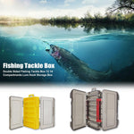 Hot Sale Storage Box Portable Delicate Design Double Sided Fishing Tackle Box Bait Lure Hook Storage Box Fishing Accessories