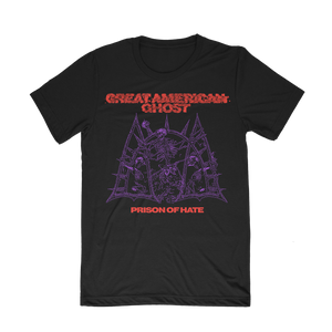 """Prison of Hate - Red/Purple Print"" Shirt (Pre-Order)"