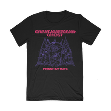 "Load image into Gallery viewer, ""Prison of Hate - Pink/Purple Print"" Shirt"