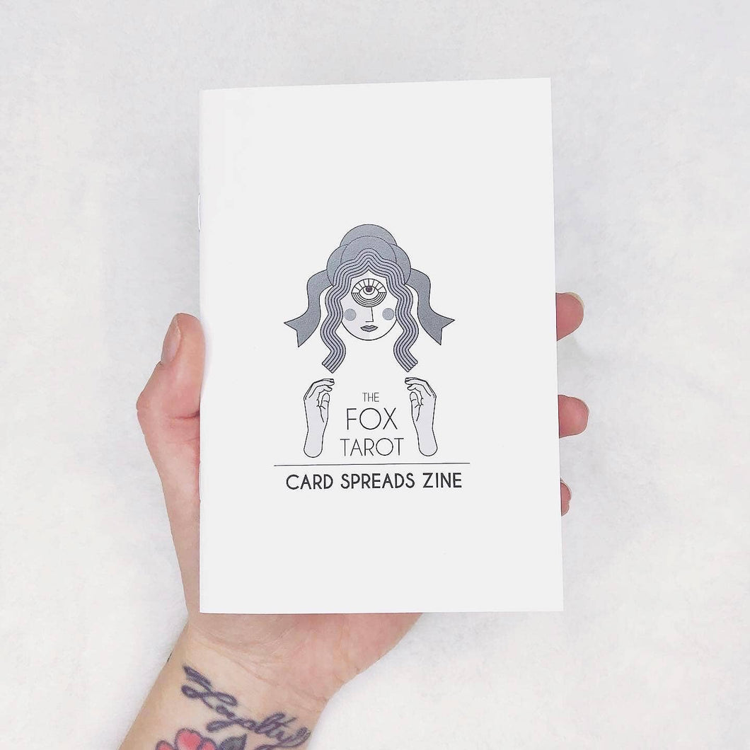 20 Card Spread Zine