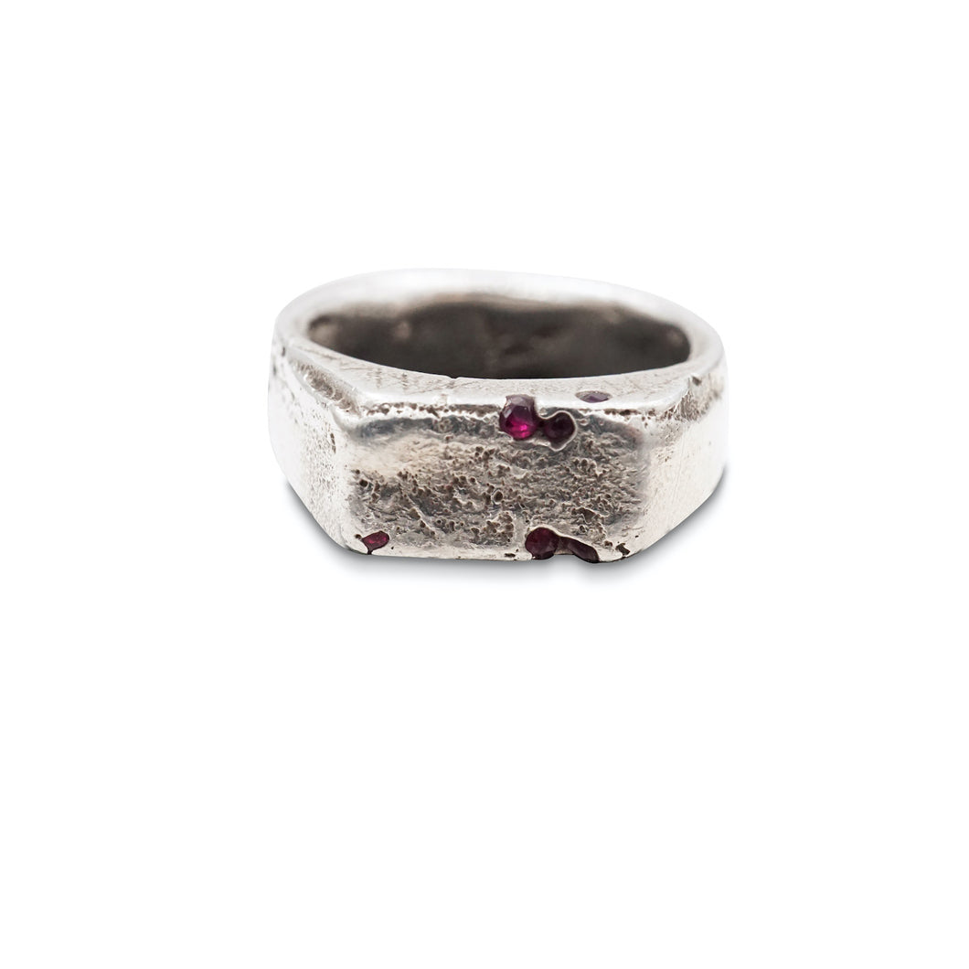 Ruby Signet Ring