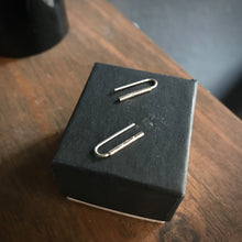 Load image into Gallery viewer, Staple Stud Earrings